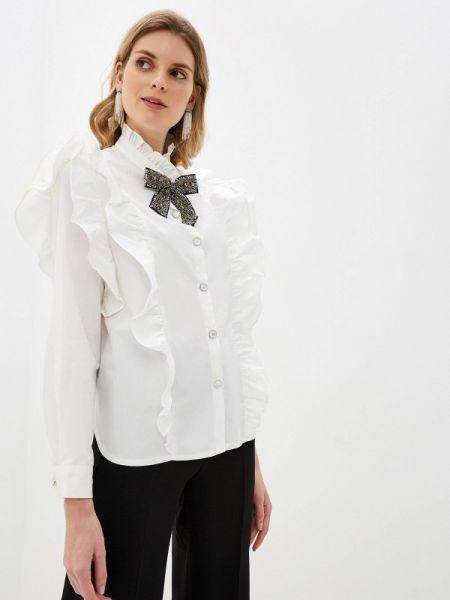 Блузка с длинным рукавом белая весенний Sister Jane