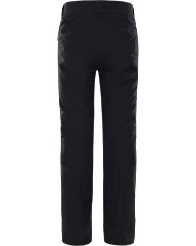 Черные горнолыжные брюки на резинке со вставками The North Face