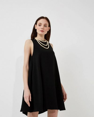 Черное платье весеннее Twin-set Simona Barbieri