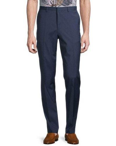 Klasyczne spodnie klasyczne wełniane z paskiem Hugo Hugo Boss