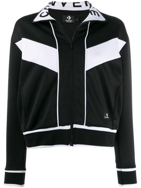 Черная куртка Converse