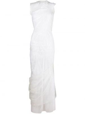 Платье мини короткое - белое Maison Margiela