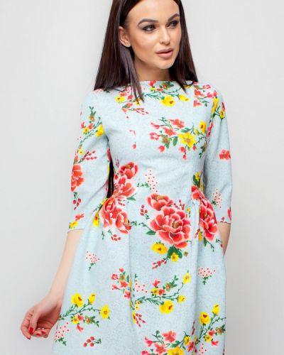 Голубое платье весеннее Karree