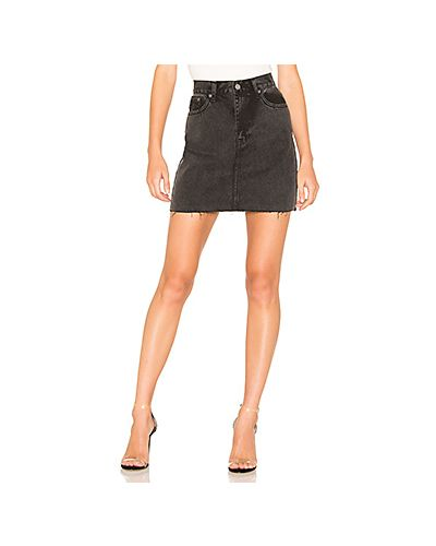 Джинсовая юбка с карманами Dr Denim