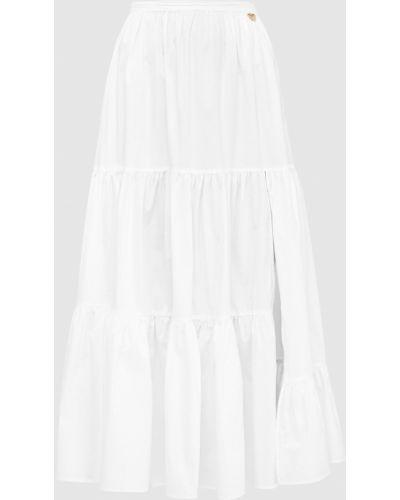 Белая юбка миди Twin-set