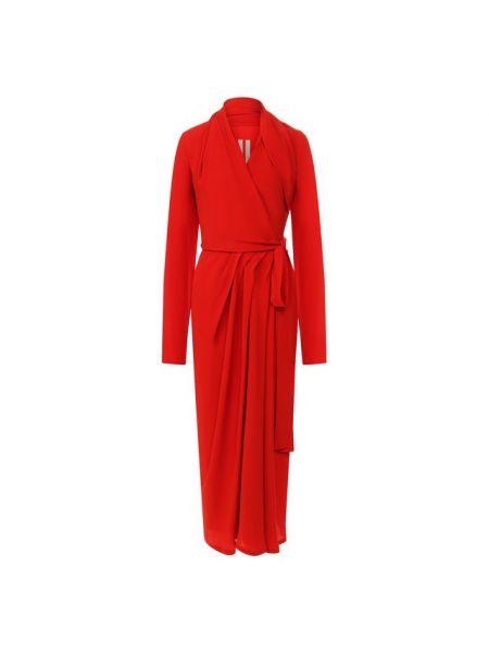 Платье мини миди с запахом Rick Owens