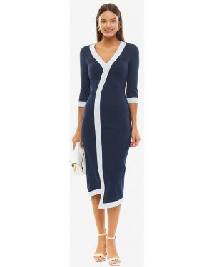 Платье синее Olga Skazkina