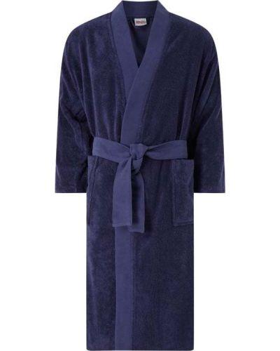 Niebieski szlafrok bawełniany Kenzo