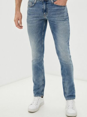 Голубые джинсы летние Mustang