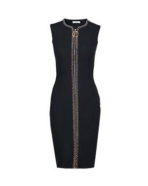 Коктейльное платье черное Versace Collection