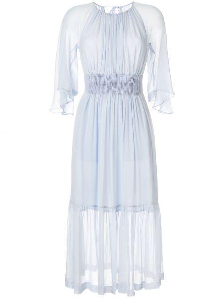 Платье миди на молнии с вырезом Kitx