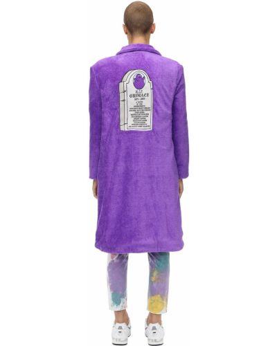 Fioletowy płaszcz Klsh - Kids Love Stain Hands