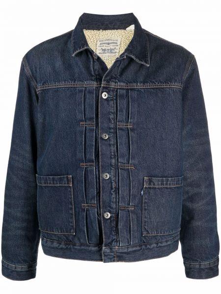 Синяя джинсовая куртка на пуговицах Levi's®  Made & Crafted™