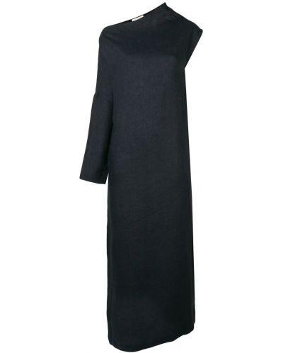 Асимметричное платье макси с вырезом Sartorial Monk
