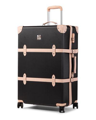 Czarna walizka duża Semi Line