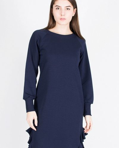 Платье весеннее синее From Us