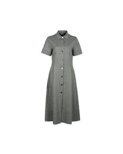 Шерстяное серое платье Alter Ego