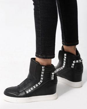 Sneakersy czarne Multu