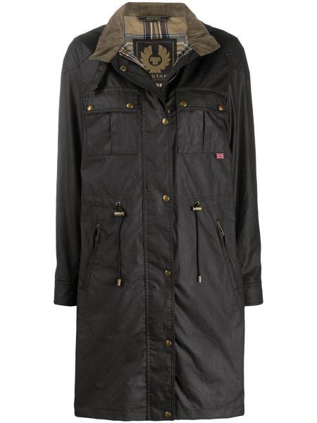 Черное пальто Belstaff