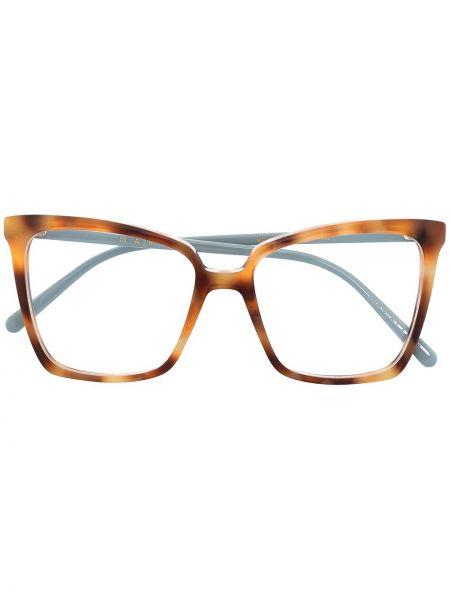 Коричневые очки кошачий глаз Marni Eyewear