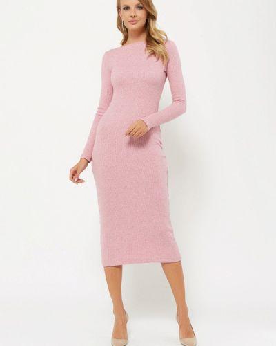 Платье розовое осеннее Verna Sebe