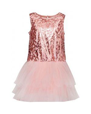 Платье с рукавами на торжество розовый Button Blue
