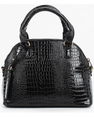 Кожаная сумка через плечо черная Dorothy Perkins