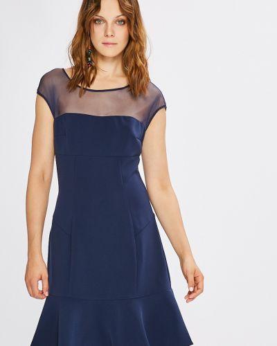 Платье мини однотонное свободного кроя Guess Jeans