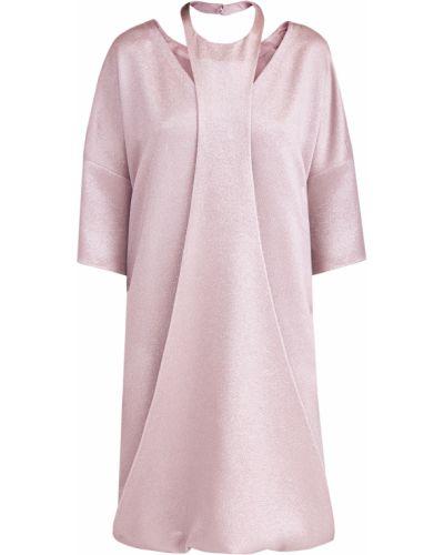 Платье с декольте на пуговицах Valentino