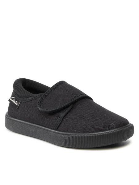 Sandały - czarne Clarks