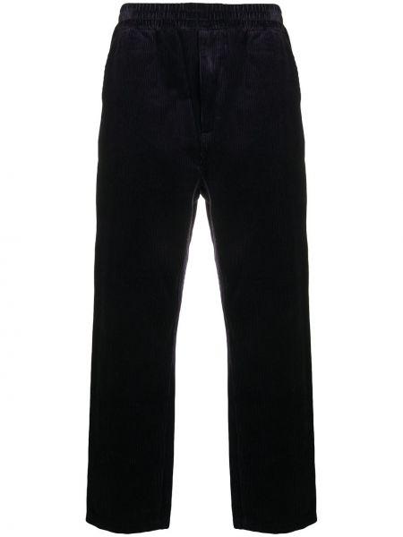 Свободные синие брюки вельветовые Carhartt Wip