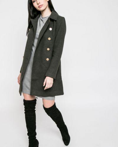 Утепленная куртка на пуговицах с карманами Only
