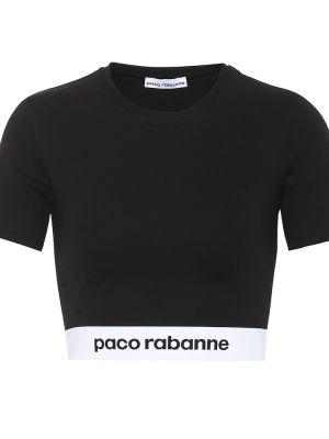 Кроп-топ из вискозы Paco Rabanne