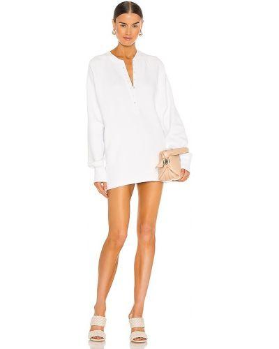 Кашемировое повседневное белое платье Marissa Webb