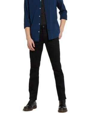 Czarne jeansy bawełniane Wrangler