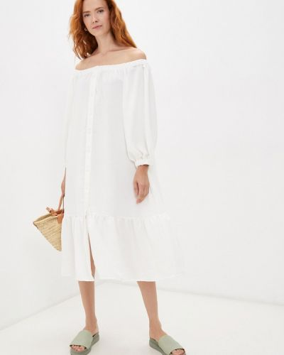 Белое платье летнее Elena Andriadi