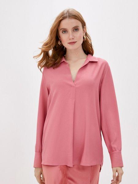 Блузка с длинным рукавом розовая осенняя Gerry Weber