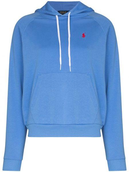 Хлопковое синее поло Polo Ralph Lauren
