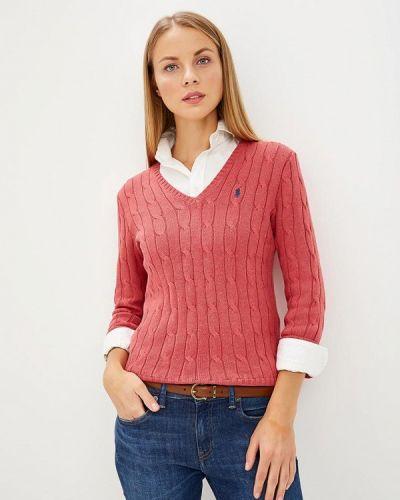 Розовый пуловер 2018 Polo Ralph Lauren
