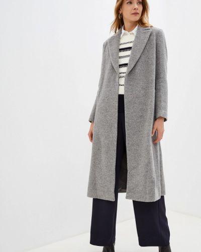 Пальто демисезонное серое Pennyblack