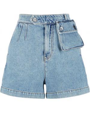 Джинсовые шорты короткие с карманами Miss Sixty