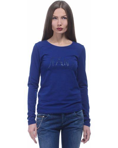 Синий джемпер хлопковый Armani Jeans