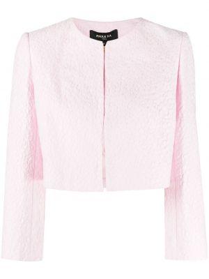 Хлопковая куртка - розовая Paule Ka