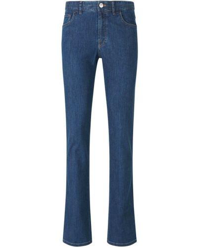 Niebieskie mom jeans Brioni