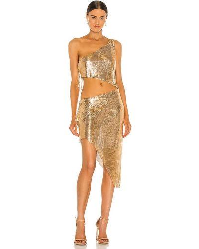 Пляжное платье - золотое Bronx And Banco