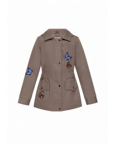 Куртка весенняя бежевая Boom Clap