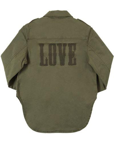 Рубашка с вышивкой на кнопках Zadig&voltaire