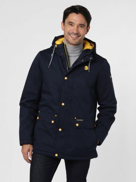 Niebieska kurtka w paski Schmuddelwedda
