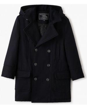 Пальто синее Alessandro Borelli Milano