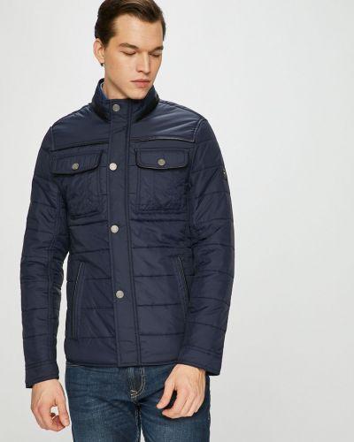 Джинсовая куртка утепленная стеганая Tom Tailor Denim